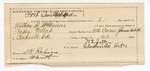 1890 April 16: Voucher, U.S. v. Nathan B. McMinu, John Tumbleton, Young Tumbleton, illicit distilling; includes cost of warrant, mileage, feeding prisoners; Paden Tolbert, deputy marshal; W.S. Jepp, guard; Stephen Wheeler, commissioner; J.M. Dodge, deputy clerk