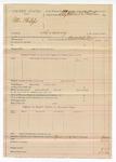 1890 April 17: Voucher, U.S. v. Peter Philips; includes cost of deputy appearance; G.S. White, deputy marshal; Stephen Wheeler, commissioner