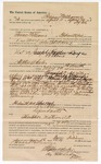 1890 May 13: Voucher, to Isaac Williams, of Fort Smith, Arkansas, for assisting John Childers, deputy marshal, in U.S. v. Joseph Hardee, larceny; J.R. Fair, Lindsey Williams, George W. Baker, arrested; Stephen Wheeler, commissioner; J.M. Dodge, deputy clerk; Jacob Yoes, U.S. marshal
