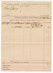 1890 May 5: Voucher, commanding the summons of S.O. Dent, William McMillian, R.D. Burton, Joe Neil, witnesses; B.T. Shelborne, deputy marshal