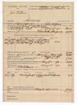 1890 May 10: Voucher, U.S. v. John Pullian, larceny; John A. Spain, deputy marshal; Stephen Wheeler, commissioner; W.M. Robinson, posse comitatus; Richard Shurles, witness; includes cost of mileage, ferriage and subsistence for self, horse and prisoner