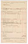 1890 May 2: Voucher, U.S. v. Robert Moon; R. B. Creekman, deputy marshal