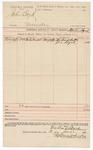 1890 June 2: Voucher, U.S. v. John Boyd, murder; Martin Byrd, deputy marshal; Jacob Yoes, U.S. marshal; Richard Butter, Joe Byrd, witnesses; Stephen Wheeler, clerk