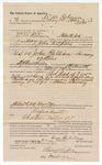 1890 May 22: Voucher, to W.M. Robinson, of Fort Smith, Arkansas, for assisting John A. Spain, deputy marshal, in U.S. v. John Pulliam, larceny; Stephen Wheeler, commissioner; I.M. Dodge, deputy clerk; Jacob Yoes, U.S. marshal