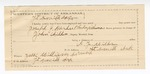 1890 May 30: Voucher, U.S. v. Lindsay Williams, introducing and selling spiritous liquors; John Childers, deputy marshal; Stephen Wheeler, commissioner; Isaac Williams, posse comitatus; A.F. Wilburn, guard; includes cost of mileage, service and subsistence for self, horse and prisoner