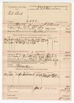 1890 June 2: Voucher, U.S. v. Red Bird, introducing and selling spiritous liquors; W.N. Stewart, deputy marshal; E.B. Harrison, commissioner; George Raper, Ottowa Beaver, witnesses; Anderson Keen, posse comitatus; includes cost of mileage, service, lodging and subsistence for self, horse and prisoner