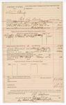 1890 June 3: Voucher, U.S. v. Stan Edwards, retail liquor dealer without paying special tax; B.T. Shelbourne, deputy marshal; Stephen Wheeler, clerk; J.M. Dodge, deputy clerk