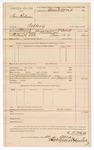 1890 May 14: Voucher, U.S. v. Sam Ridenour, robbery; L.P. Isbell, deputy marshal; Stephen Wheeler, clerk