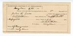 1890 May 24: Voucher, U.S. v. John R. Geen, assault with intent to kill; W.B. Killin, deputy marshal; W.L. Killin, guard; Margaret F. Geen, witness; Stephen Wheeler, commissioner; I.M. Dodge, deputy clerk