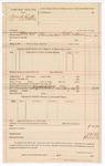 1890 May 24: Voucher, U.S. v. William C. Hatter; R.B. Creekman, deputy marshal
