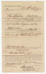 1890 June 30: Voucher, to Henry M. Durham, of Fort Smith, Arkansas, for assisting S.P. McLaughin, deputy marshal, in U.S. v. John Rogers, introducing spirituous liquors; Stephen Wheeler, commissioner; J.M. Dodge, deputy clerk