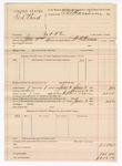 1890 June 3: Voucher, U.S. v. Red Bird, introducing and selling spiritous liquor; W.N. Stewart, deputy marshal; E.B. Harrison, commissioner