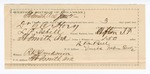 1890 June 02: Voucher, U.S. v. Dr.G. C. Hoey, adultery; L.P. Isbell, deputy marshal; Jacob Yoes, U.S. marshal; L.B. Bell, guard; Stephen Wheeler, commissioner; I.M. Dodge, deputy clerk; J.L. Shook, J.H. Alley, One Howell, witnesses; includes cost of mileage, service and subsistence for self, horse and prisoner