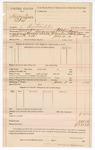 1890 June 3: Voucher, U.S. v. Harry Sisson et al., contempt; R.B. Creekmore, deputy marshal; G. Graham, Mary Brown, witnesses