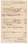 1890 June 11: Voucher, U.S. v. Ben Ambers, introducing and selling spiritous liquors; E.B. Ratterree, deputy marshal; Jacob Yoes, U.S. marshal; John McMurtrey, posse comitatus; John McMurtrey, witness; James Brizzolara, commissioner; Stephen Wheeler, clerk; includes cost of mileage, service and subsistence for self, horse and prisoner