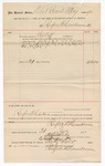1890 July 31: Voucher, to Renfroe B. Creekmore; includes cost for services rendered as bailiff for court; Jacob Yoes, U.S. marshal; Stephen Wheeler, clerk; I.M. Dodge, deputy clerk