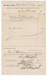 1890 September 5: Voucher, to George S. WinstonU.S. v. Lafayette Hughes, introducing spiritous liquors; Jacob Yoes, U.S. marshal; Stephen Wheeler, clerk; I.M. Dodge, deputy clerk