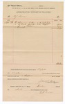 1890 September 15: Voucher, to B.J. Dunn; includes cost for plumbing services to U.S. jail; Jacob Yoes, U.S. marshal