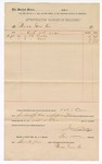 1890 September 17: Voucher, to Boas Grocer Co.; includes cost for oats and corn for use in U.S. jail; Jacob Yoes, U.S. marshal