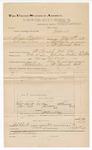 1890 December 31: Voucher, U.S. v. Dick Barton and Dan Pan, introducing and selling spiritous liquor; E.B. Ratterree, deputy marshal; Jacob Yoes, U.S. marshal; F.E. Gaddy et al., witnesses; Stephen Wheeler, commissioner