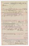 1892 February 04: Voucher, U.S. v. Bob Dosser, larceny; Bass Reeves, deputy marshal; Jacob Yoes, U.S. marshal; Joe McIntosh, posse comitatus; Sam Stratton, John Berks, Reynolds Cudjo, witnesses; James Brizzolara, commissioner; Stephen Wheeler, clerk; I.M. Dodge, deputy clerk; includes cost of mileage, service and subsistence for self, horse and prisoner