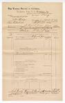 1890 December 31: Voucher, L.P. Isbell, deputy marshal, for U.S. v. John Hodge and Sam Ridenhour, larceny, U.S. v. Dr. G.C. Huey, adultery, U.S. v. General Smith, bigamy, U.S. v. Allen Hamtin, larceny; J.L. York et.al, H.C. Davis et.al, J.K. Rogers et.al, witness; James Brizzolara, commissioner; T.J. Crooks, commissioner
