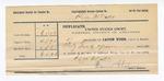 1890 December 31: Voucher, to Daniel Chapman, deputy marshal, in U.S. v. Henry Carter, U.S. v. Stand Dwayne, U.S. v. Yellow Bird, U.S. v. Joseph Backwater, U.S. v. Samual Weir, U.S. v. One Pane, U.S. v. John Backwater, U.S. v. Sam Lucie, U.S. v. William Johnson, U.S. v. Joe Tom, U.S. v. Tinley Whitley; Elmer Rakeshaw, Jore Ward, John Ward, John Davis, Joseph Eudes, Charles Snell, Ant Thompson, Elijah Meubran, Julius Choctaw, Ned Roah, William Chandler, Sam Cob, Sammy Doyle, Siman Drye, James Starr, James Blorap, Russell Peak, Mrs. Peak, Cob Cooper, N.M. Melton, Dan Bucket, Coffee Muskrat, Dave Muskrat, George Cumming, witnesses; E.B. Harrison, commissioner