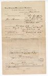 1890 June 30: Voucher, to Bass Reeves, deputy marshal, for assisting in U.S. v. Tom Brown, U.S. v. One Wiley and One Wanleska, U.S. v. Robert Wolfe, U.S. v. Talmagasse et al., U.S. v. Cyprus Williams, U.S. v. One Kinder, U.S. v. Cesar Payne, U.S. v. Norcus Harjo, U.S. v. Ben Williams, U.S. v. George H. Sutton, U.S. v. Tuish-ala-wee (alias Greenleaf), U.S. v. One Seber, U.S. v. One Paruosa (alias Osoua), U.S. v. William Shotka, U.S. v. Watij Mitchell, U.S. v. Noska, U.S. v. Talmassu, U.S. v. Sam Meechy, U.S. v. Thomas Knight and One Wilson, U.S. v. Thomas Knight, Stillby Sun, and One Wilson, U.S. v. John Shot and One Legist, U.S. v. Moses Lackyazee, U.S. v. Moses Stucco, U.S. v. Joe Baker, U.S. v. John Wildhorse, U.S. v. One Marty, U.S. v. John Cudjo, U.S. v. Fryhola, U.S. v. Joe Spicer, U.S. v. Senna Jackson, U.S. v. Mady Backhead, U.S. v. Pete Cole, U.S. v. Wesley Harris, U.S. v Joseph Bruner, U.S. v. John Cudger; Joe Grayson, Ola Mancaser, Dan Marshal, Frank Carter, One Foreman, Corby Hill, Stewart Larney, E.J. Brown, Pauline Bruner, John Bruner, John Tecumuch, San Markall, George Chime, Nan Miller, Plents Fay, Long George, One Paddy, Manuel Bruner, Willie Lewis, Willie Smith, William Foster, Nap Wisner, Eli McGird, Dan Frank, E.D. Gray, Pali Salwry, Albert Burgess, Eli Daniel, Will Hill, Mrs. Charles Albro, Lelly Leno, Jerry Brown, S.W. Harris, Alex Cox, Tom Noble, Small Marts, John Arsen, Willie Toms, John Parker, Mrs. Grayson, witnesses; Stephen Wheeler, James Brizzolara, commissioners