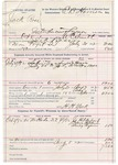 1892 October 08: Voucher, U.S. v. Jack Ross, introducing spiritous liquors; includes cost of warrant, subsistence, mileage, witnesses; W.C. Smith, deputy marshal; H.H. York, guard; Jo Hildebrand, Dave Hilduson, Loney Pizen, witnesses; E.B. Harrison, commissioner