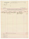 1891 October 19: Voucher, to W.R. Cowden, deputy marshal; William Courts, Frank Courts, John Kirk, witnesses