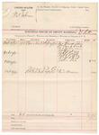 1891 October 19: Voucher, U.S. v. Tal Johnson; E.B. Ratterree, deputy marshal; Mrs. Francis Johnson, Dr. Crablock, N.A. Johnson, Dr. Zachry, Robert Rolls, Robert Little, Dr. W.A. Cox, John Lee, witnesses; George Moore, witness in U.S. v. Ed Biggs
