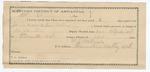 1891 October 22: Voucher, U.S. v. James Crop and Benjamin Collins, violating U.S. internal revenue laws; includes cost of warrant, mileage, subsistence, witnesses; Marion Carlton, deputy marshal; A.J. Milsaps, guard; John Starr, T.B. Brasfield, William Lane, witnesses; Stephen Wheeler, commissioner, clerk; J.M. Dodge, deputy clerk