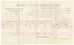 1891 November 04: Voucher, U.S. v. L.N. Bird, introducing spiritous liquors; includes cost of mileage, witnesses; R.B. Creekmore, deputy marshal; N.E. Stone, A.T. Scott, witnesses; Stephen Wheeler, commissioner; Jacob Yoes, U.S. marshal