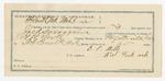 1891 December 12: Voucher, U.S. v. Bighead George; Tom Factor, witness; Ben T. Nevins, witness in U.S. v. Isaac Frazier et al.; Bass Reeves, deputy marshal