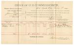 1891 November 09: Voucher, U.S. v. Joseph Millsap, violating internal revenue laws; includes cost of mileage, witnesses; W.C. Houston, T.B. Holt, witnesses; Stephen Wheeler, commissioner; Jacob Yoes, U.S. marshal
