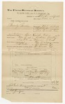 1891 November 13: Voucher, U.S. v. Andy Jones, violating internal revenue laws; includes cost of mileage, witness; R.B. Creekmore, witness of signatures; J.S. Summers, witness; Stephen Wheeler, commissioner; Jacob Yoes, U.S. marshal