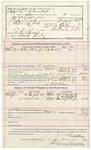 1891 November 18: Voucer, U.S. v. William Foreman; A.W. Bruner, deputy marshal; John Kingfisher, James Rowe, witnesses; C.D. Gunter, Dr. J.T. Clegg, witnesses in U.S. v. S. Busby