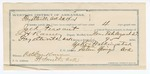 1891 December 15: Voucher, U.S. v. Jack Feasant, introducing liquors; E.B. Harrison, commissioner; L.H. Raney, deputy marshal; Zeke Walkingstick, guard; Sylvester Goingualf, witness; Stephen Wheeler, clerk; I.M. Dodge, deputy clerk