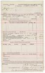 1891 December 23: Voucher, U.S. v. James Lawson; includes cost of warrant, feeding prisoner; M.D. Collins, deputy marshal; Stephen Wheeler, commissioner, clerk; J.M. Dodge, deputy clerk; Jacob Yoes, U.S. marshal