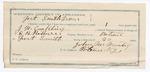 1891 December 23: Voucher, U.S. v. J.W. Kirkland, introducing liquor; includes cost of warrant, feeding prisoner; E.B. Ratterree, deputy marshal; John McMurtry, guard; Stephen Wheeler, commissioner