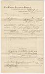 1892 June 30: Voucher, U.S. v. J.H. Jenkins, incest; includes cost of warrant, subpoena, mileage, witnesses; Charles L. Bowden, deputy marshal; Van Bery Jenkins, Sarah Jenkins, witnesses; Stephen Wheeler, commissioner; Jacob Yoes, U.S. marshal