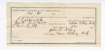 1891 December 21: Voucher, U.S. v. B.L. Cormack, assault with intent to kill; includes cost of warrant, mileage, subsistence, feeding prisoner; Thomas R. Stausbery, deputy marshal; Stephen Wheeler, commissioner