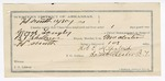 1891 December 30: Voucher, U.S. v. George Langly, murder; includes cost of warrant, feeding prisoner, witnesses; B.T. Shelburne, deputy marshal; J.H. Neal, One Beard, John Brown, witnesses; Stephen Wheeler, commissioner; J.M. Dodge, deputy clerk; Jacob Yoes, U.S. marshal