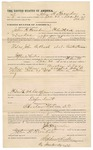 1892 January 02: Voucher, U.S. v. John B. Bush et al., resisting process; Stephen Wheeler, commissioner; W.D. Smith, deputy marshal; John H. Hendon, posse comitatus; William Harris, J.H. Herndon, witnesses; I.M. Dodge, deputy clerk; Jacob Yoes, U.S. marshal