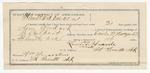 1891 December 31: Voucher, U.S. v. Sam Wordard, escaped prisoner; includes cost of warrant, mileage, subsistence, feeding prisoner; Bynum Colbert, deputy marshal; Stephen Wheeler, clerk; J.M. Dodge, deputy clerk; Jacob Yoes, U.S. marshal