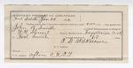 1982 January 26: Voucher, U.S. v. John R. Smith, adultery; includes costs of feeding prisoner; W.N. Stewart, deputy marshal; B.G. Wilkerson, guard; Stephen Wheeler, clerk; J.M. Dodge, deputy clerk; Jacob Yoes, U.S. marshal