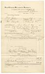 1892 February 03: Voucher, U.S. v. Will Tatum and Nat Hampton, larceny; Sam Marcus, Andrew Hitchens, witnesses; E.H. Bruner, deputy marshal; Stephen Wheeler, commissioner; Jacob Yoes, U.S. marshal