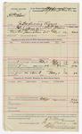 1892 February 01: Voucher, U.S. v. H.P. Nelson, introducing spirituous liquors; includes costs of service of warrant, feeding prisoner; S.J. Minor, deputy marshal; Stephen Wheeler, commissioner; Jacob Yoes, U.S. Marshal