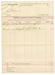 1892 February 02: Voucher, U.S. v. Less Wilkerson; U.S. v. Joe Shields; includes costs of service of subpoenas; Jeff Lewis, Don Tree, witnesses; John McMarty, deputy marshal
