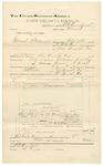 1892 March 31: Voucher, U.S. v. Edward Flatwood, murder; includes costs of travel expenses; Zack Bran, Mrs. Sebals, W.H. Hunts, George Dempsey, witnesses; B.C. Burchfield, deputy marshal; Stephen Wheeler, commissioner; Jacob Yoes, U.S. marshal
